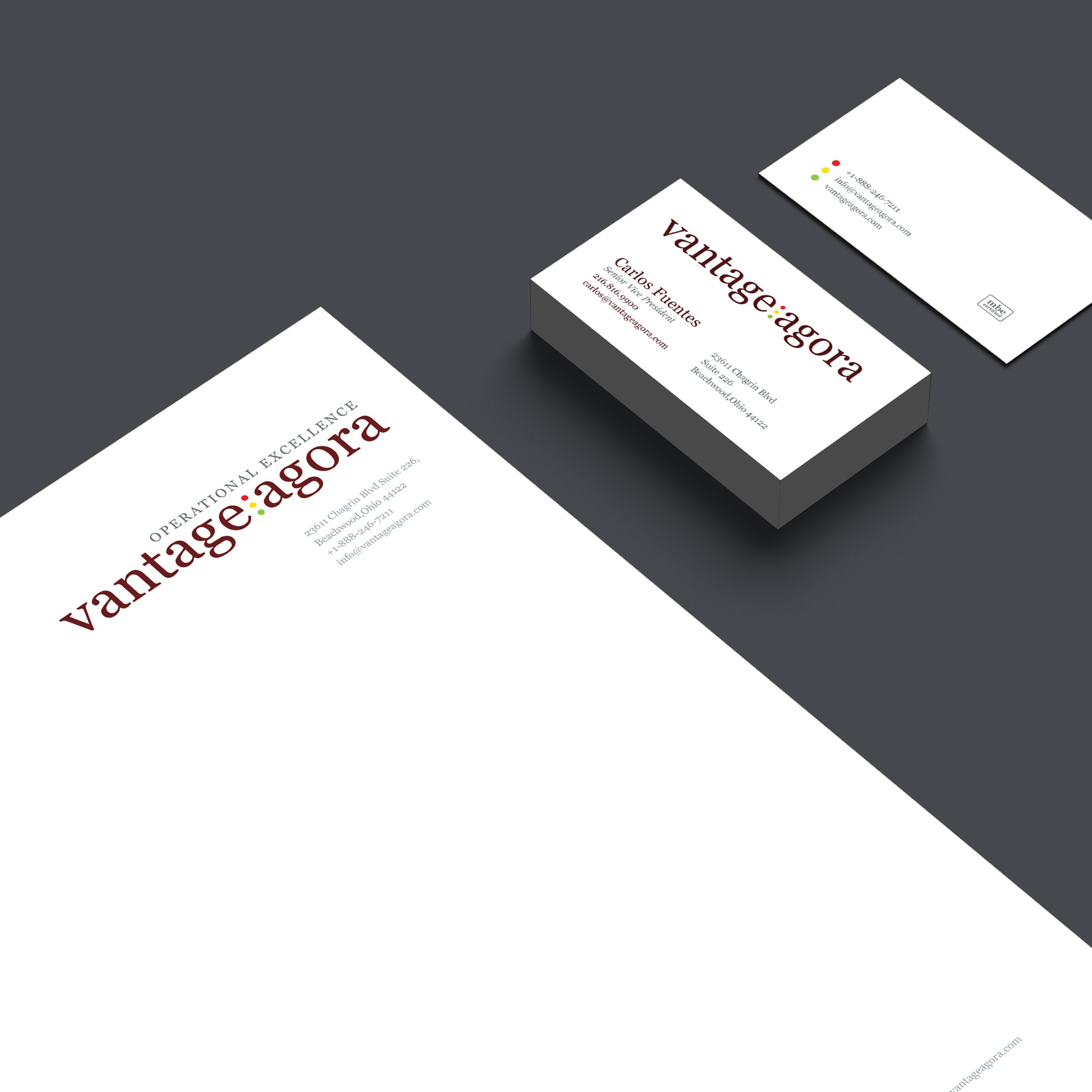 Vantage Agora Identity Design