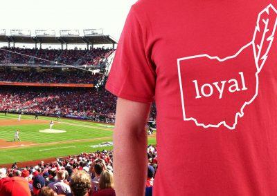Cleveland Indians Fan T-Shirt