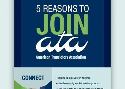 ATA Membership Infographic