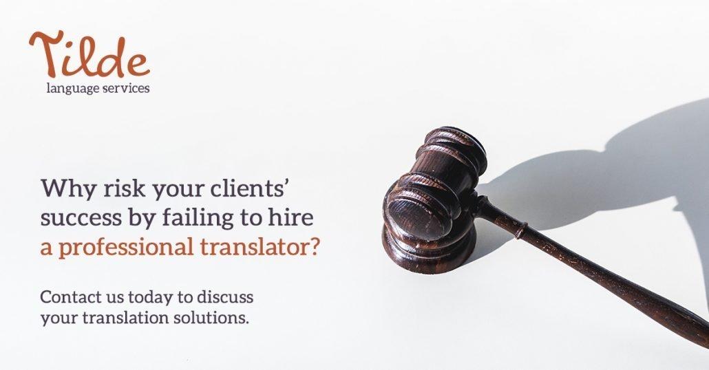 Tilde Language LinkedIn Advertisement Design 1